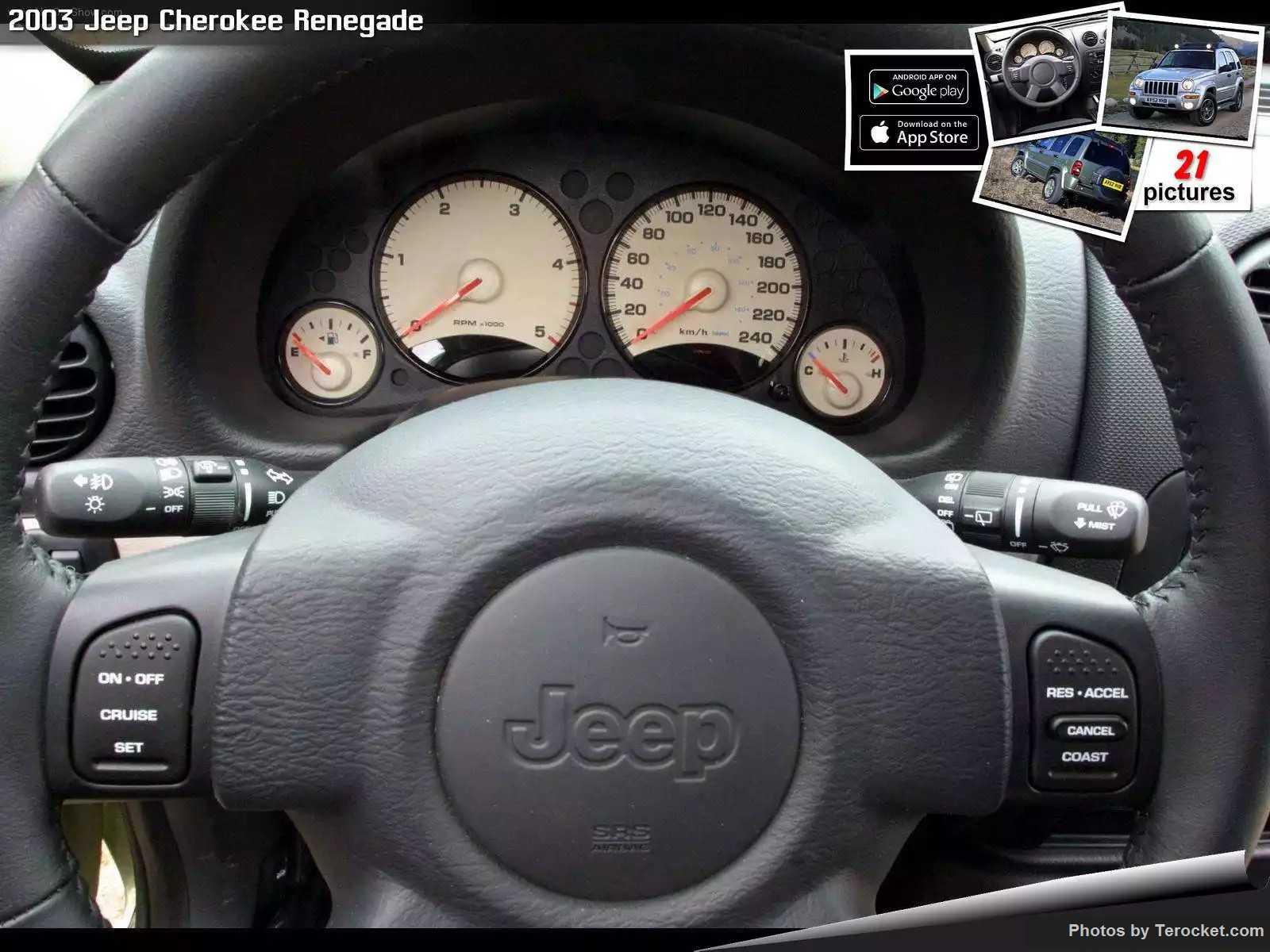 Hình ảnh xe ô tô Jeep Cherokee Renegade 2003 & nội ngoại thất