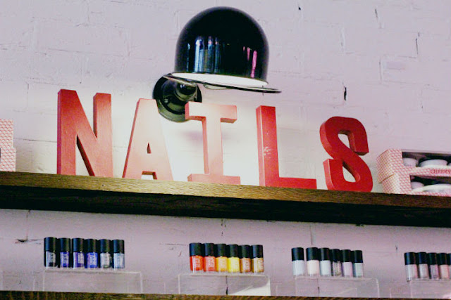 A Boozy Manicure  at Cheeky Holborn