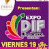 Expo DIF Rio Bravo en centro comercial.