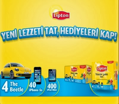 Lipton-Çekiliş-Kampanyası-Lipton-Volkswagen-The-Beetle-Çekilişi
