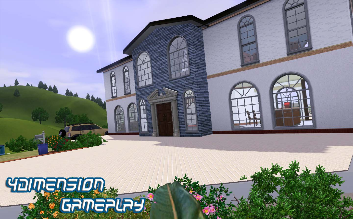 Charming Sims 3 Home Design Hotshot Part - 2: Loves Being Outdoors: More Window.
