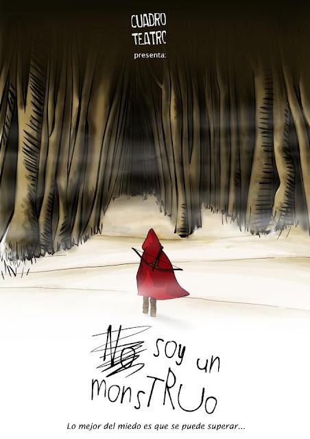 No soy un monstruo, cuadro teatro, madrid, teatro, niños, Laura Romero