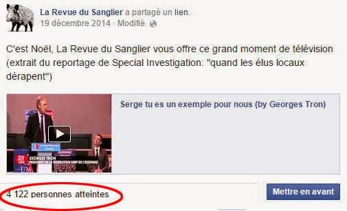 La Revue du Sanglier est aussi sur Facebook, Twitter et Google+.