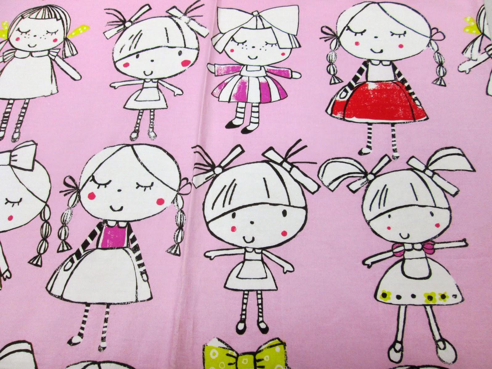 Ткань для детской девочки