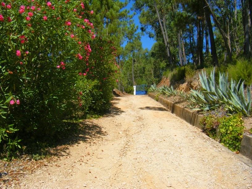Estrada de acesso a propriedade privada