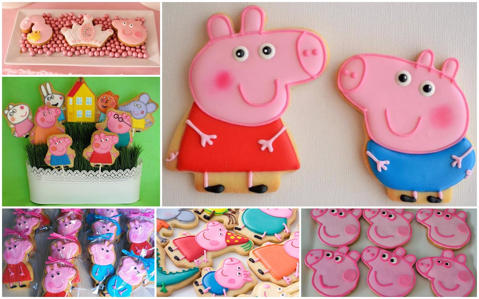 Peppa Pig Theme Birthday Party Athena Miels Balloons Bubbles and