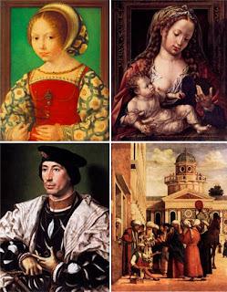 Сборник картин художников эпохи возрождения