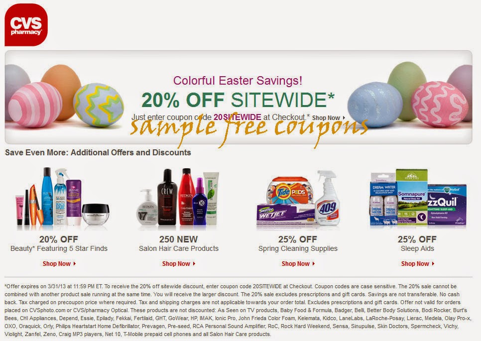 cvs pharmacy coupons september 2014
