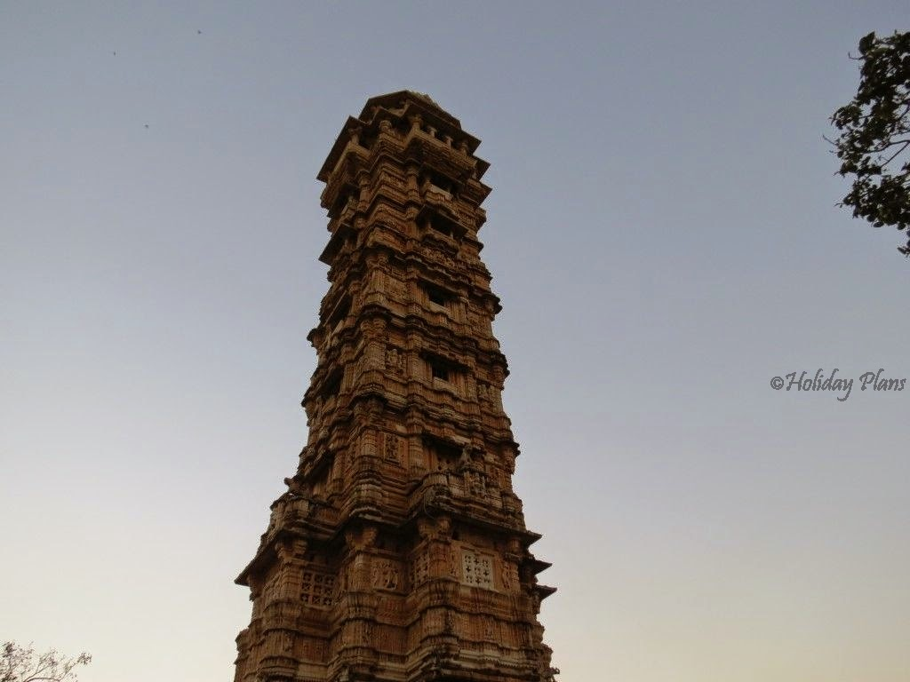 Vijay Stambh in Chittorgarh fort