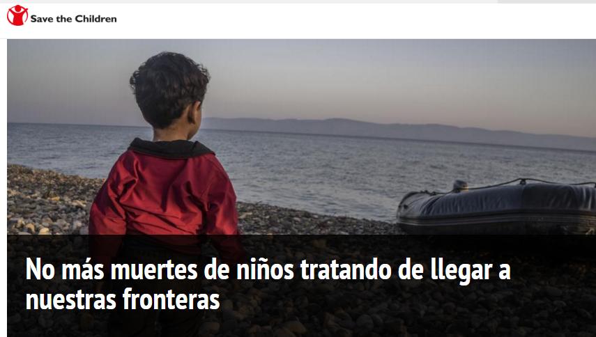 * ¡Basta A La Muerte de Niños Refugiados! *