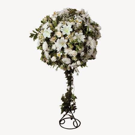 Arreglos Florales con Pedestal, parte 1