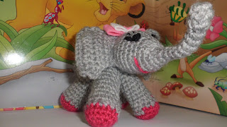elefante ganchillo