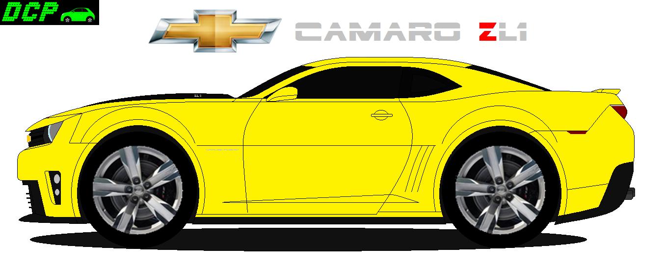 chevrolet camaro zl1 2013 dcp design
