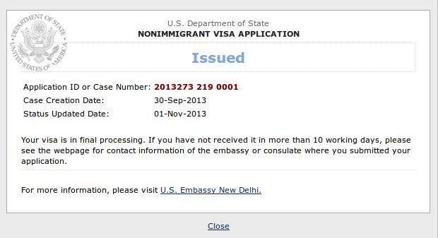 musingsofawanderingresearcher: Obtaining J1 US VISA @ New Delhi, India