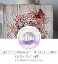 DIY - kartka wg mapki