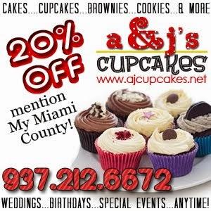 AJ Cupcakes  20% off