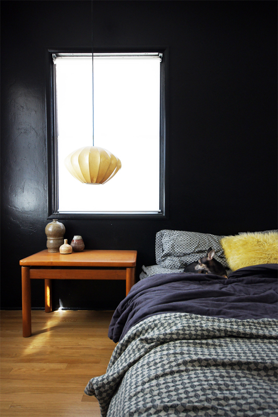 Black interiors inspiration by @thebrickhouse
