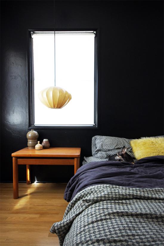 Black interiors inspiration by @thebrickhouse