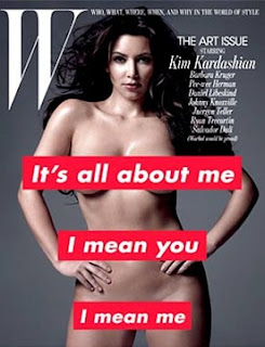 Kardashian Magazine on Kim Kardashian Stunning Images In W Magazine