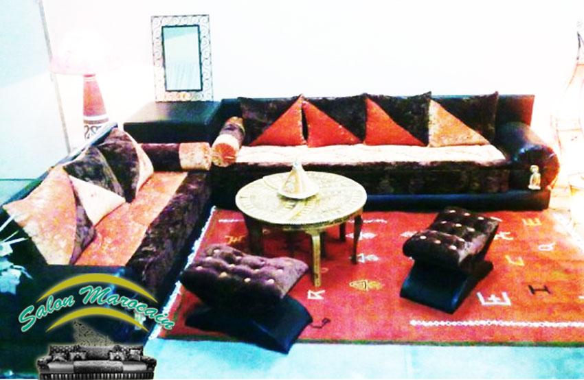 Salon marocain luxe - Décoration Salon Marocain Moderne 2018