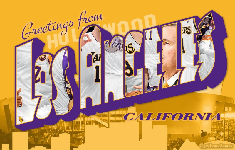 30 home games nba postcards greetings from los angeles california nba postcards greetings from los angeles california lakers and clippers edition m4hsunfo Gallery