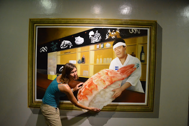 Trick Eye Museum sushi