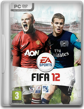 Capa FIFA 2012 – PC (Completo) + Crack