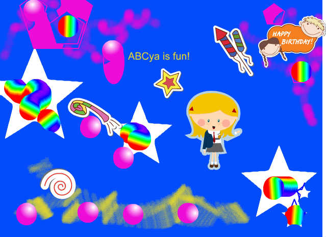 ABCya is a website with lots of educational computer games for kids
