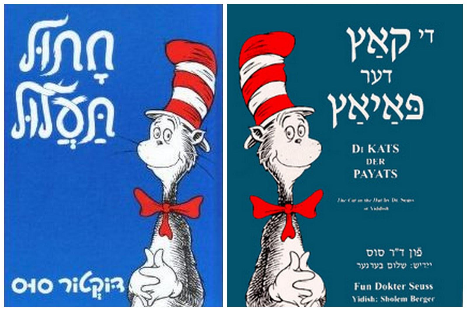 Yiddish Vs Hebrew Suitcase and World: Yi...