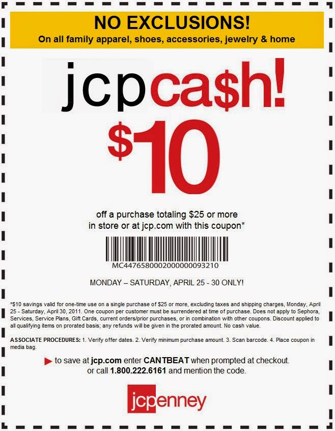 Printable coupons jcpenney coupons for Jc penneys