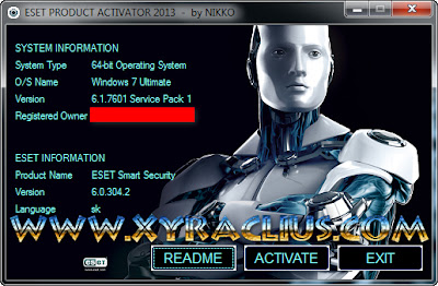 Eset Product Activator 2013 For Activation