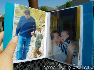 Father's Day gift album - www.MightyCrafty.me