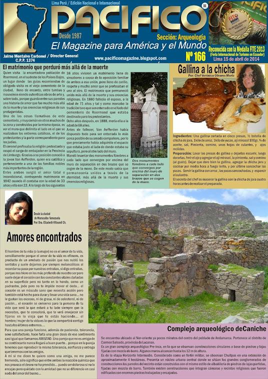 Revista Pacífico Nº 166 Arqueología