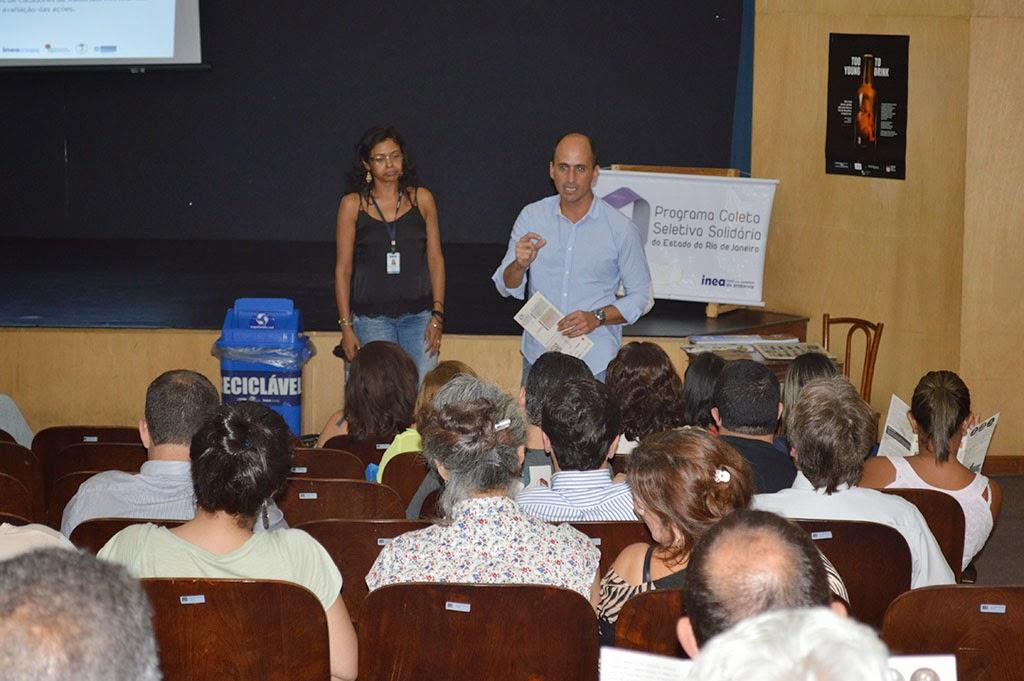 Secretário de Meio Ambiente, André de Mello, frisa que os órgãos públicos devem dar o exemplo, incentivando a população a participar da coleta seletiva