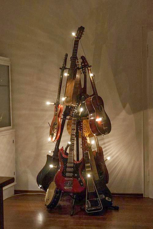 The Art Of Up Cycling Repurposed Guitars Really Cool