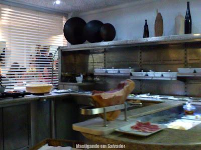 Restaurante Bella Napoli: Mesa de Antepastos