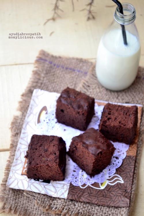 Brownies Kukus Ubi Jalar