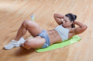 The Best Abdominal Exercises for Women (Crunches)