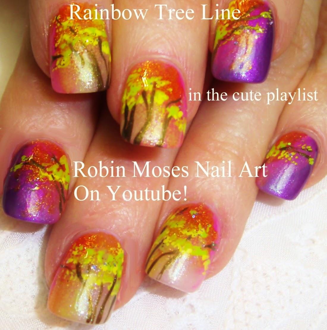 """Cute Easy Fall Nail Designs: Robin Moses Nail Art: """"Fall Nail Art"""" """"elegant Fall Nails"""