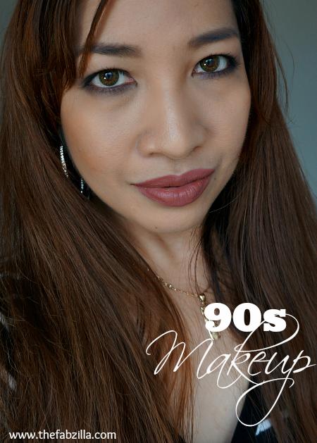 90s makeup tutorial, how to 90s makeup, Kylie Jenner makeup