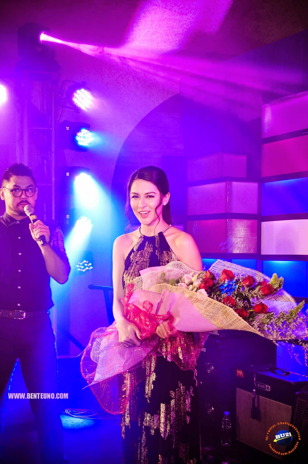 Marian Rivera, announced as Media Magnet of 2014 at the Yahoo Celebrity Awards