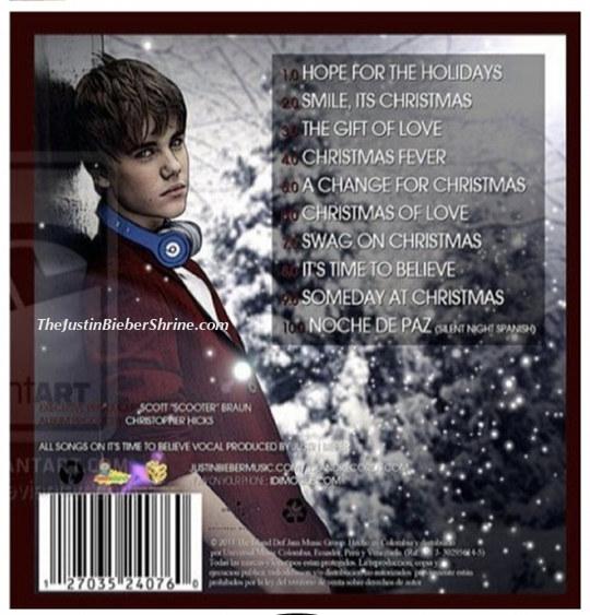 justin bieber christmas album tracklist - Justin Bieber Christmas Album