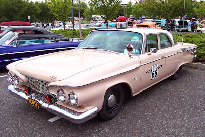 plymouth fury police car route