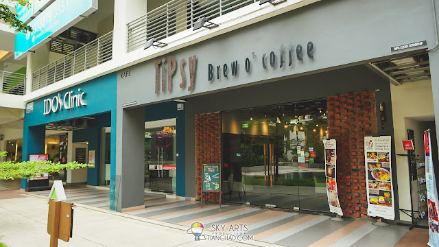 TiPsy Brew O'Coffee @ Puchong Setiawalk is located right next to IDO'S Clinic