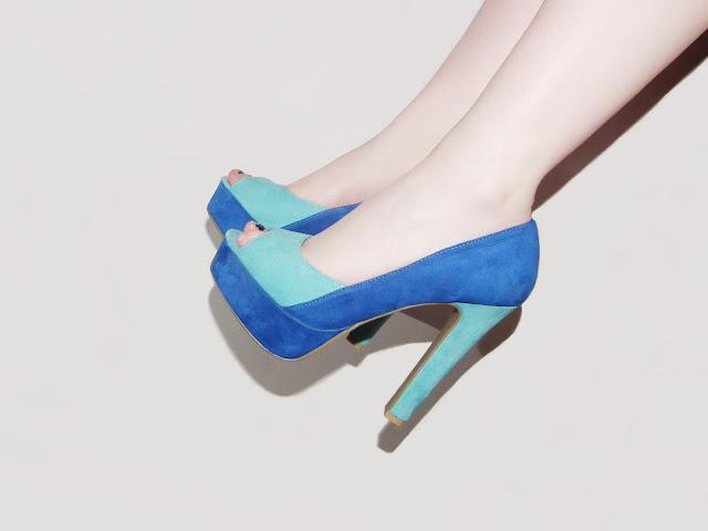 Sammi Jackson - Sleeh Colour Block Heels