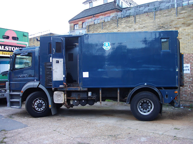 Jim - An armoured Brinks Mercedes Atego 1823