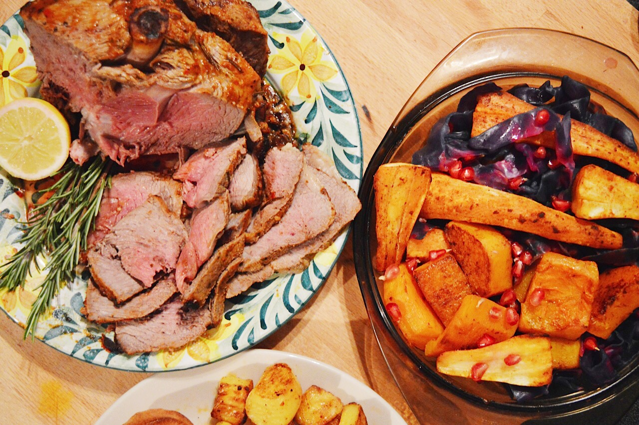 Harissa lamb roast recipe, Encona sauces review, food bloggers, FashionFake