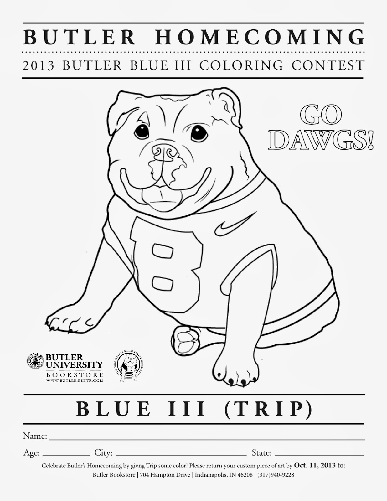 homecoming coloring pages - photo#15