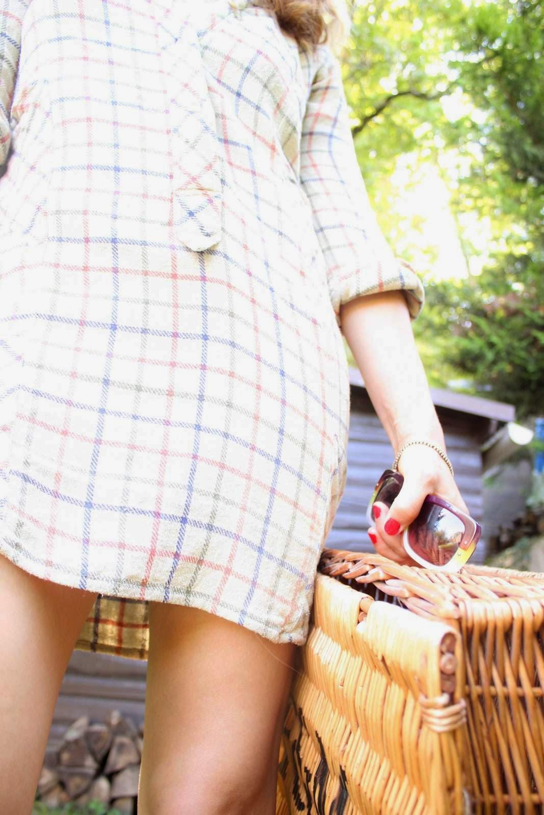 The cutest plaid dresses isabel marant/gap/madewell