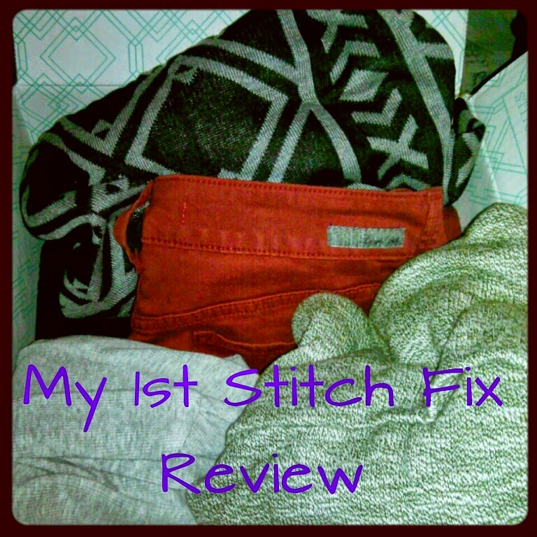 November 2014 Stitch Fix subscription review